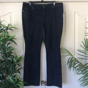 Torrid 20 Dark Wash Straight Leg Jeans